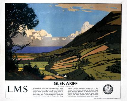 'Glenariff', LMS poster, 1923-1947.