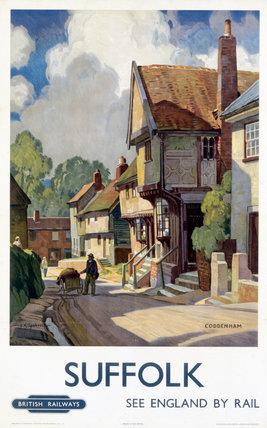 'Suffolk', BR(ER) poster, 1948-1965.