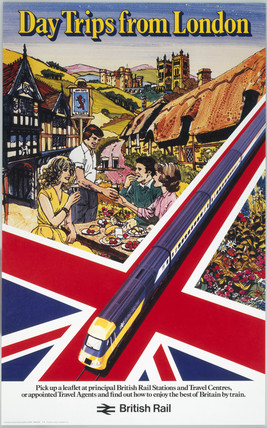'Day Trips from London', BR (CAS) poster, c