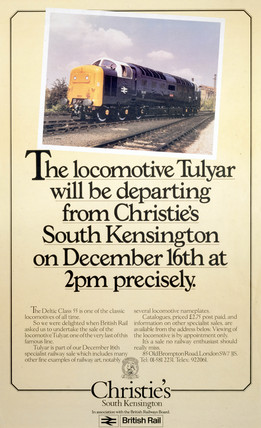 'The Locomotive Tulyar', c 1980s.