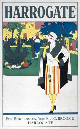 'Harrogate', LNER poster, 1923-1947.