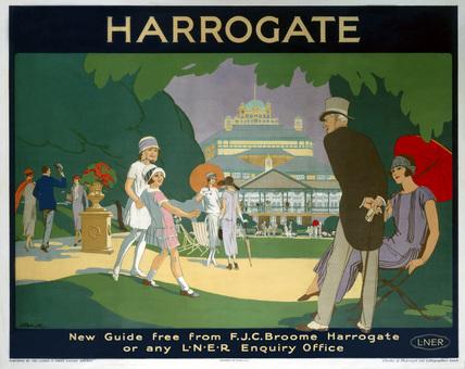 'Harrogate', LNER poster, 1925.