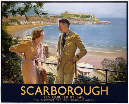 'Scarborough', LNER poster, 1935.