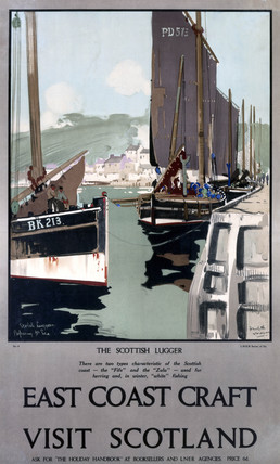 'East Coast Craft', LNER poster,