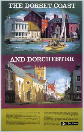 'The Dorset Coast and Dorchester' by Lander