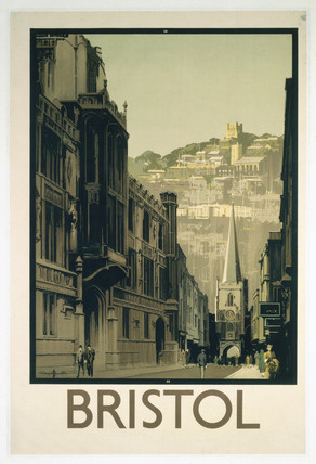 'Bristol', proof copy of GWR/LMS poster, 1933.
