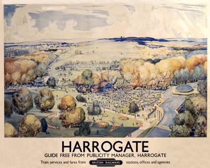 'Harrogate', BR poster, 1948-1965.