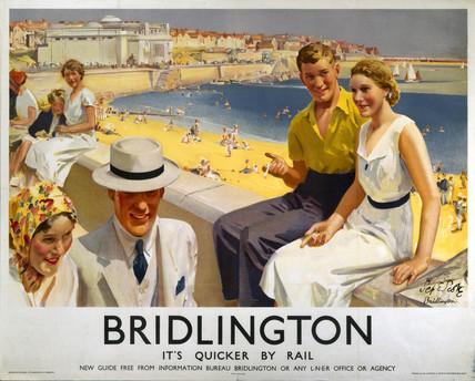 'Bridlington', LNER poster, 1938.