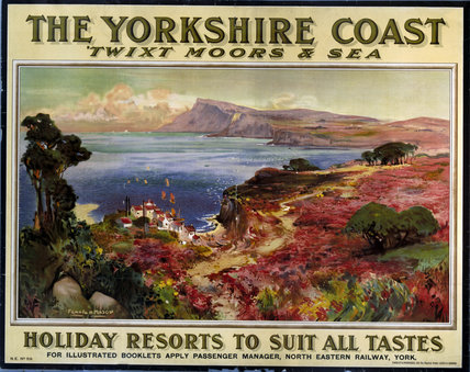 'The Yorkshire Coast', NER poster, 1900-1922.