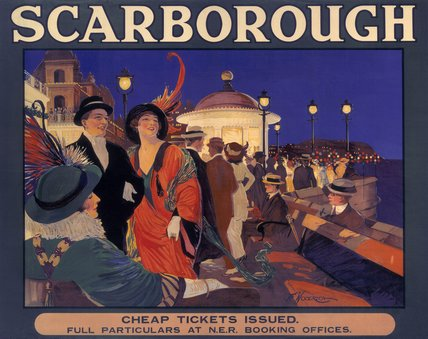 'Scarborough', NER poster, c 1910.