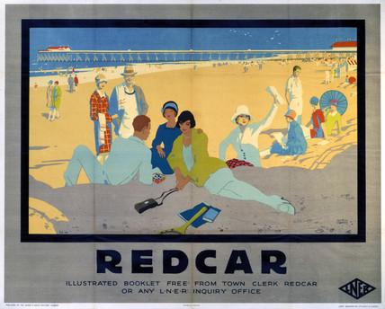 'Redcar', LNER poster, 1930.