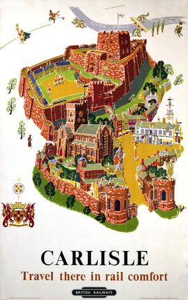 'Carlisle', BR poster, 1953.