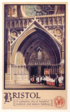 'Bristol', GWR poster, 1938.