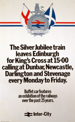 'The Silver Jubilee', BR poster, 1977.