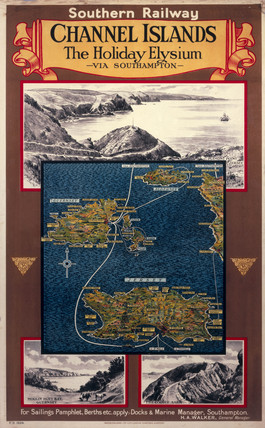 'Channel Islands - The Holiday Elysium', SR