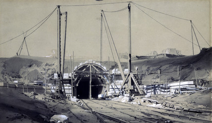 Primrose Hill Tunnel, London, April 1837.