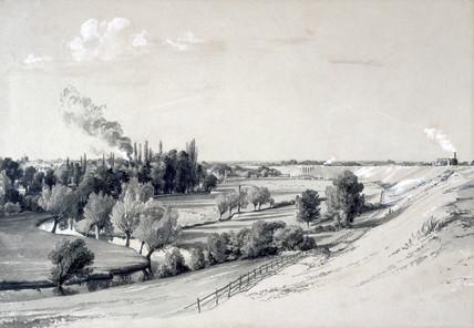 Watford Embankment, Hertfordshire, 29 October 1837.
