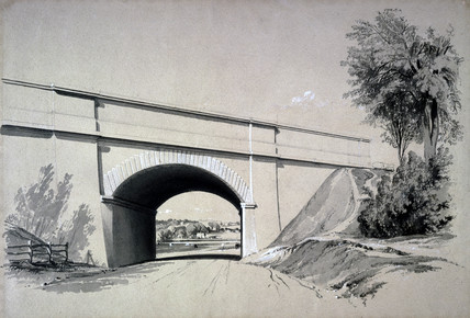 Oblique Bridge, Boxmoor, Hertfordshire, 12 June 1837.