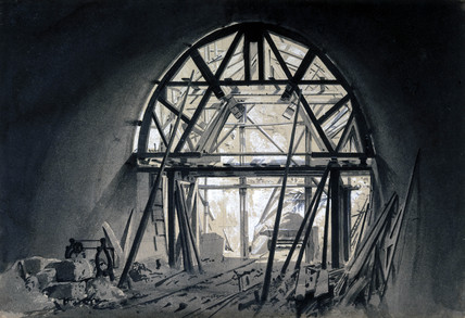 North Church Tunnel, London & Birmingham Railway, 17 June 1837.