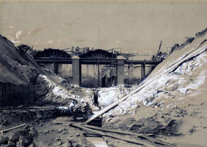 'Tring cutting', Hertfordshire, 1838.