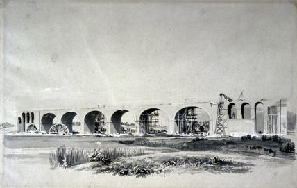 Wolverton Viaduct, 30 June 1837.
