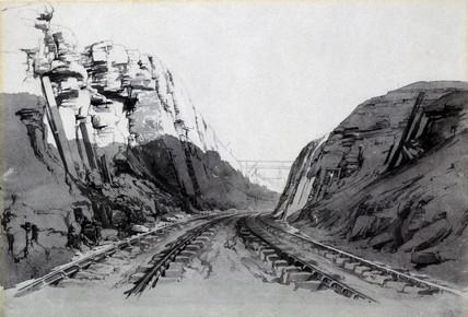 Blisworth Cutting, Northamptonshire, September 1838.