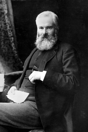 Alexander Crum Brown, Scottish organic chemist, late 19th century.