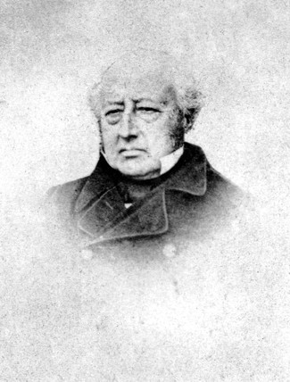 Edward Bury, engineer, c 1850s.