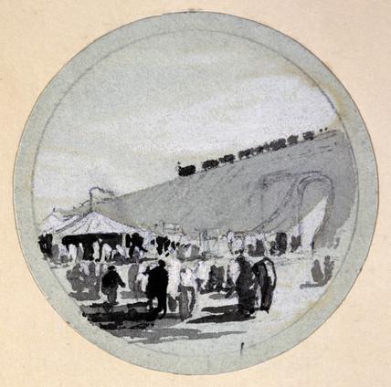 'Opening', London & Birmingham Railway, c 1838.