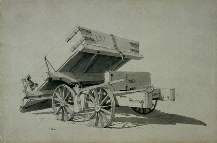 Contractor's tipping wagons, No 3, 1830s.