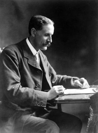 Hugh Longbourne Callendar, British physicist, c 1910s.