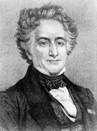 Michel Eugene Chevreul, French chemist and physicist, c 1820s.