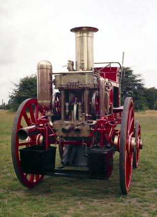 Steam fire engine, 1894.