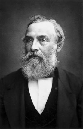 Henry Coxwell, English balloonist, c 1886.
