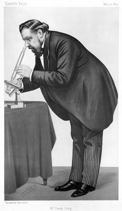 Sir Frank Crisp, English lawyer, botanist and eccentric,  1890.