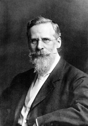 Sir William Crookes, English chemist and physicist, 1911.