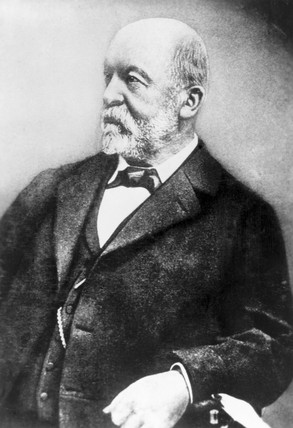 Gottlieb Daimler, German mechanical engineer, late 19th century.