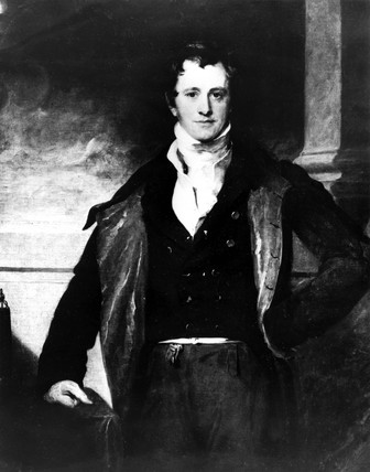 Sir Humphry Davy, English chemist, c 1820.