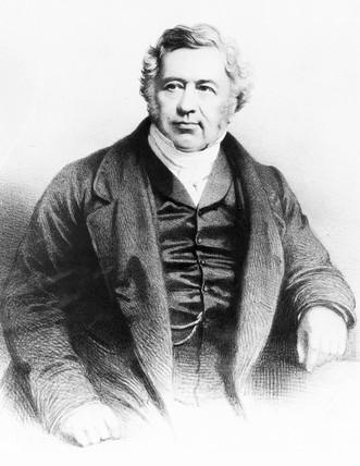Edward John Dent, English chronometer maker, c 1840.