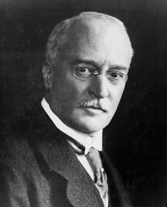 Rudolf Diesel, German inventor of the diesel engine, c 1900s.