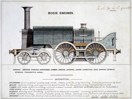 'Bogie Engines', 1857.