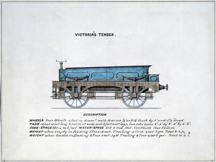 'Victoria's tender', 1857.