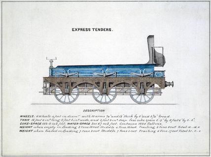 'Expres Tenders', 1857.
