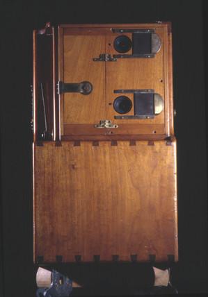 Le Prince single-lens camera, 1888.