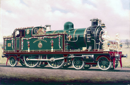 'Thundersley', locomotive of the London, Tilbury & Southend Railway, 1911.