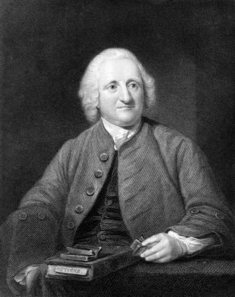 John Dollond, English optician, c 1750s.