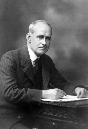 Sir Arthur Eddington, English physicist, c 1930.