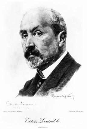 Baron Lorand Von Eotvos, Hungarian physicist, c 1900.