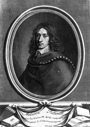 John Evelyn, English diarist, c 1650.
