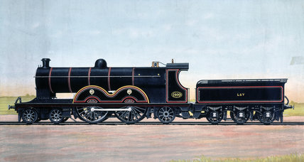 Lancashire and Yorkshire Railway Expres, Locomotive No 1400, c 1900.